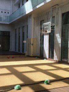 屋根付き運動場 バスケットボール